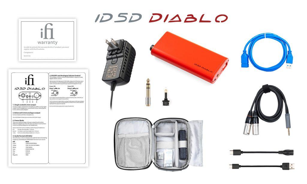 iDSD diablo accessories